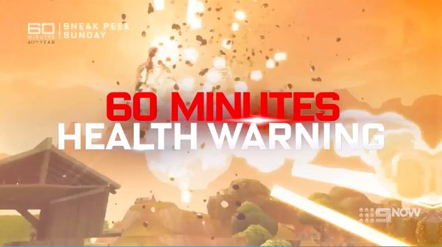 60 Minutes Health Warning